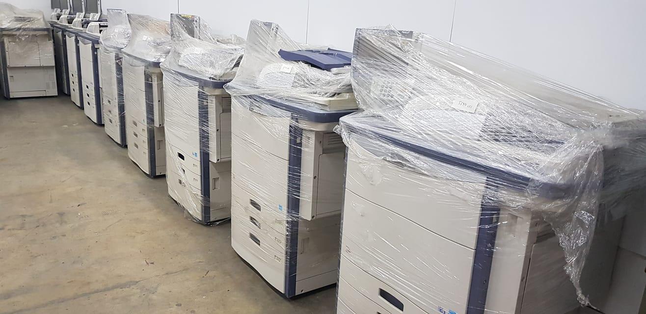 Dàn máy photocopy màu cho thuê của công ty Nhật Nam luôn đáp ứng nhu cầu của khách hàng